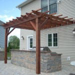 Fixed Redwood Pergola