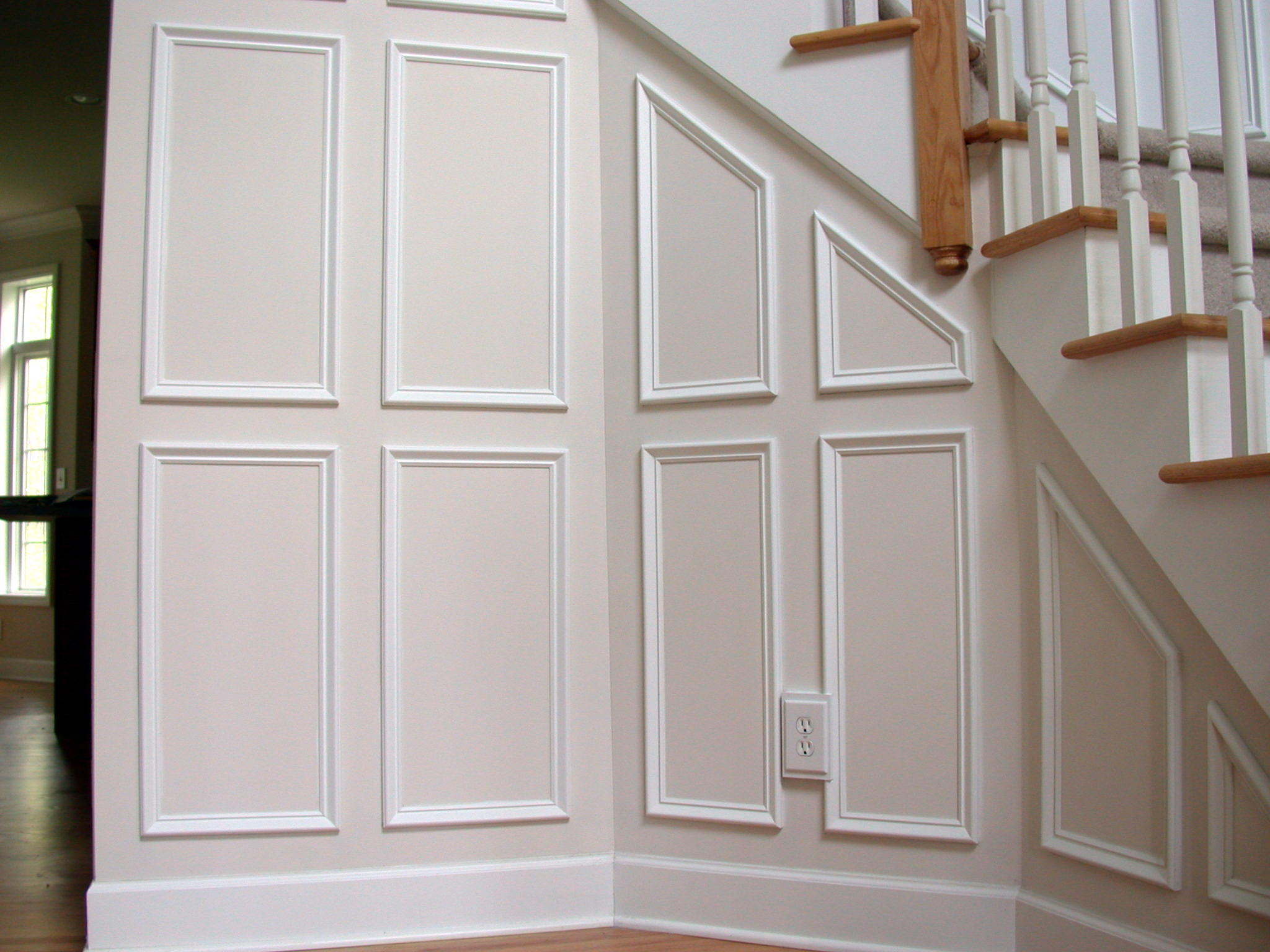 Wall trim molding ideas for Window molding ideas